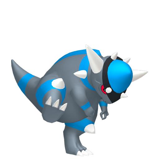 Modèle de Charkos - Pokémon GO