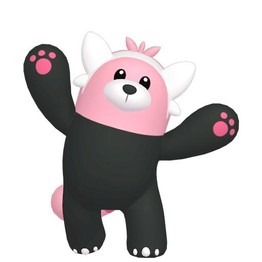 Modèle de Chelours - Pokémon GO