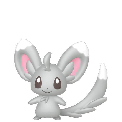 Modèle de Chinchidou - Pokémon GO