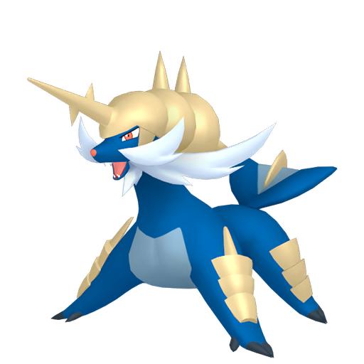 Modèle de Clamiral - Pokémon GO