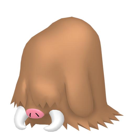 Modèle de Cochignon - Pokémon GO