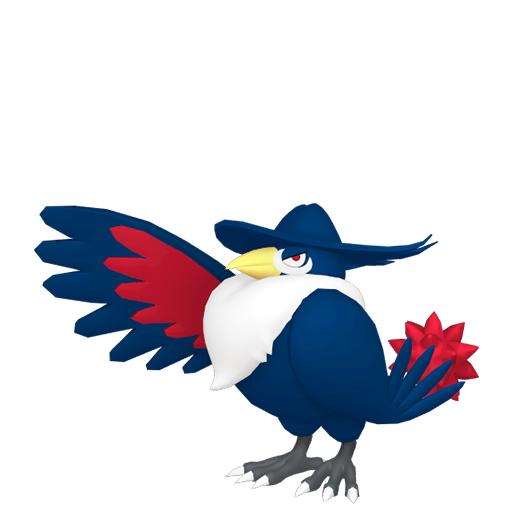 Modèle de Corboss - Pokémon GO