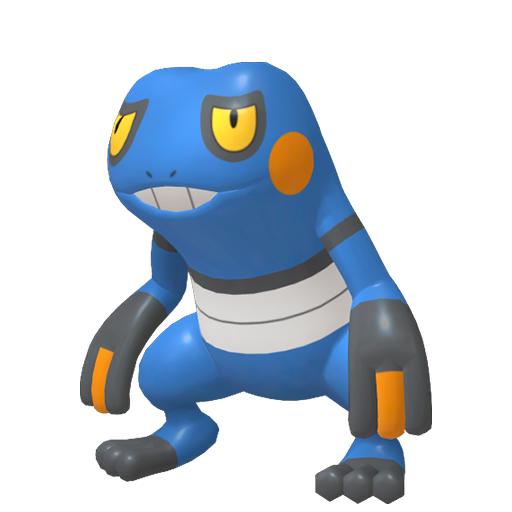 Modèle de Cradopaud - Pokémon GO