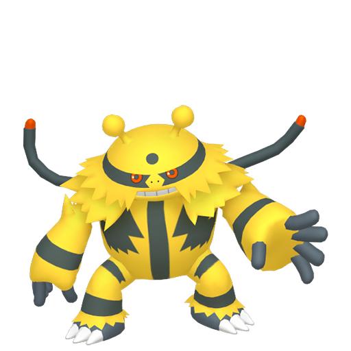 Modèle de Élekable - Pokémon GO