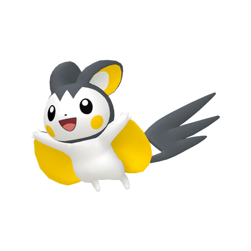 Artwork de Emolga