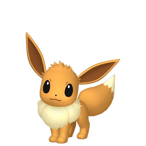 Modèle de Évoli - Pokémon GO