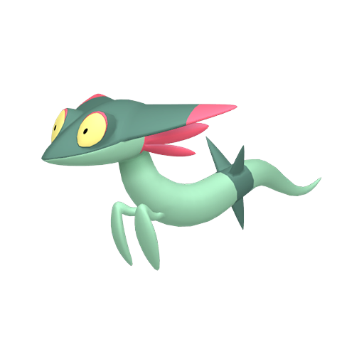 Modèle de Fantyrm - Pokémon GO