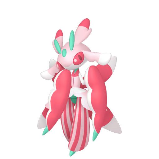 Modèle de Floramantis - Pokémon GO