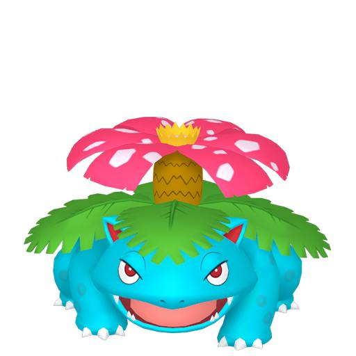 Modèle de Florizarre - Pokémon GO