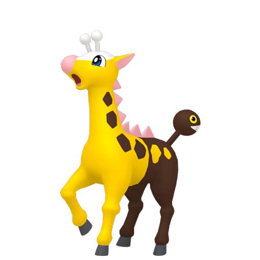 Modèle de Girafarig - Pokémon GO
