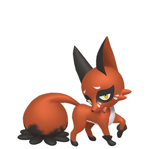 Modèle de Goupilou - Pokémon GO
