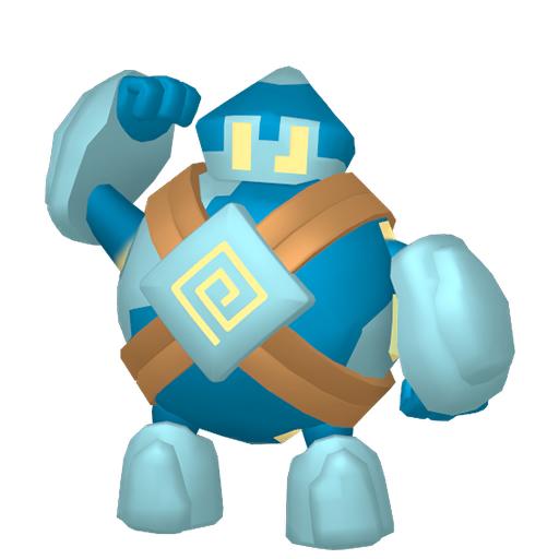 Modèle de Gringolem - Pokémon GO