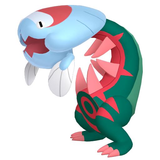 Modèle de Hydragon - Pokémon GO