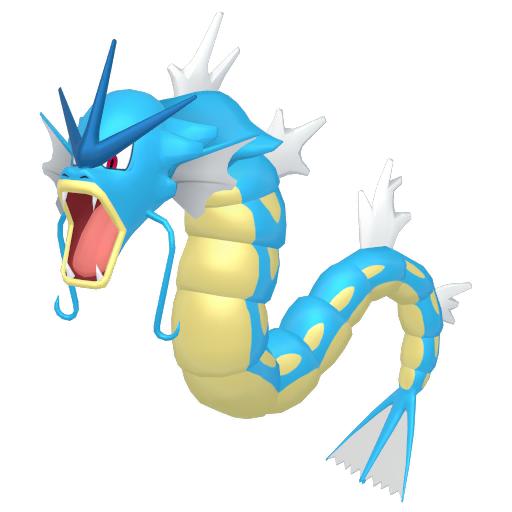 Modèle de Léviator - Pokémon GO