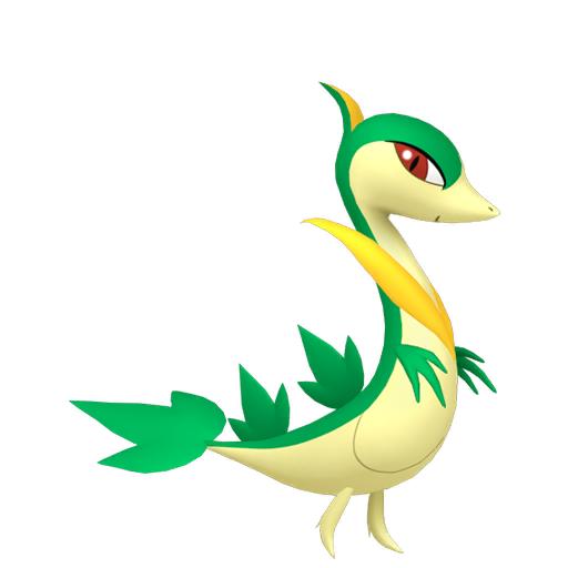 Modèle de Lianaja - Pokémon GO