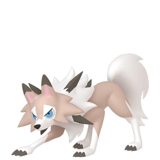 Modèle de Lougaroc - Pokémon GO
