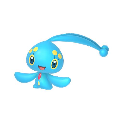Modèle de Manaphy - Pokémon GO