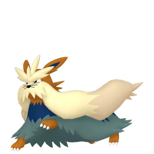 Modèle de Mastouffe - Pokémon GO
