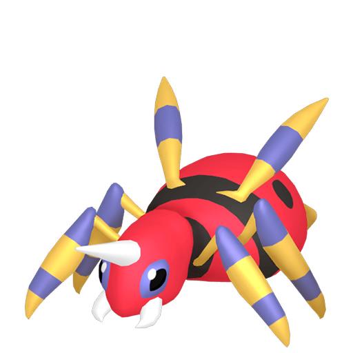 Modèle de Migalos - Pokémon GO