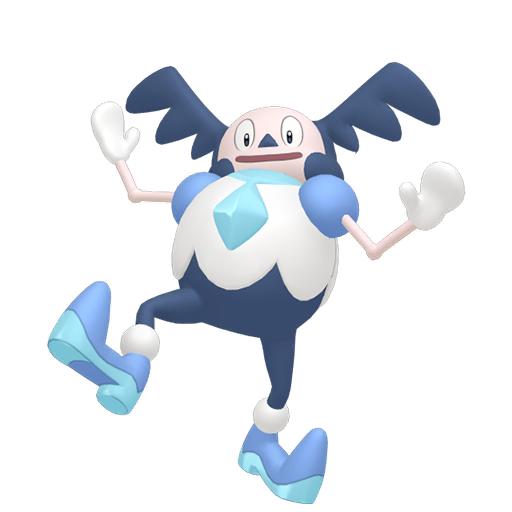 Modèle de M. Mime de Galar - Pokémon GO
