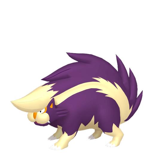 Modèle de Moufflair - Pokémon GO