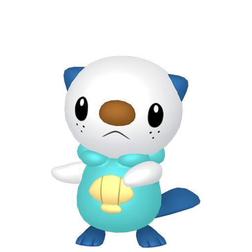 Modèle de Moustillon - Pokémon GO