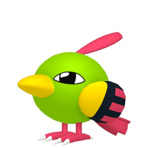 Modèle de Natu - Pokémon GO