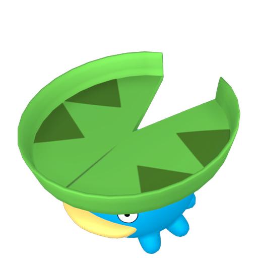 Modèle de Nénupiot - Pokémon GO