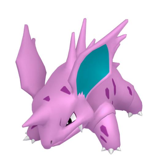 Modèle de Nidorino - Pokémon GO