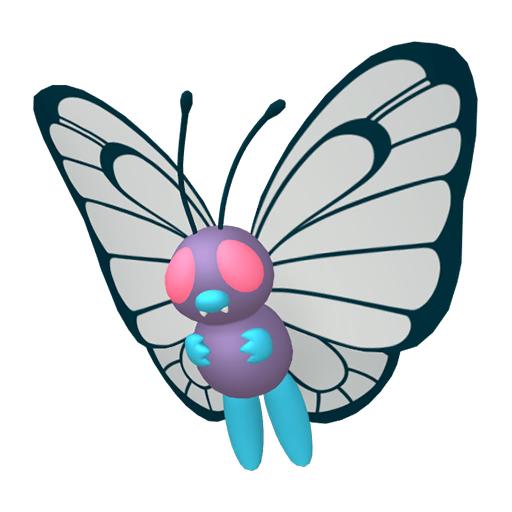 Modèle de Papilusion - Pokémon GO