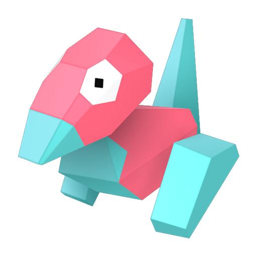Modèle de Porygon - Pokémon GO