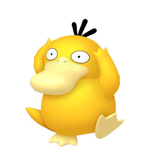 Modèle de Psykokwak - Pokémon GO