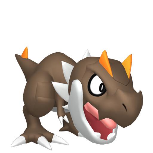 Modèle de Ptyranidur - Pokémon GO