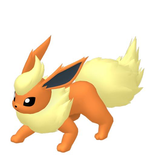 Modèle de Pyroli - Pokémon GO