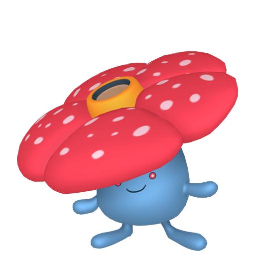 Modèle de Rafflesia - Pokémon GO