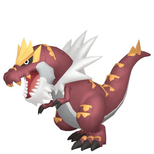 Modèle de Rexillius - Pokémon GO
