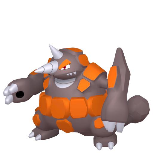 Modèle de Rhinastoc - Pokémon GO