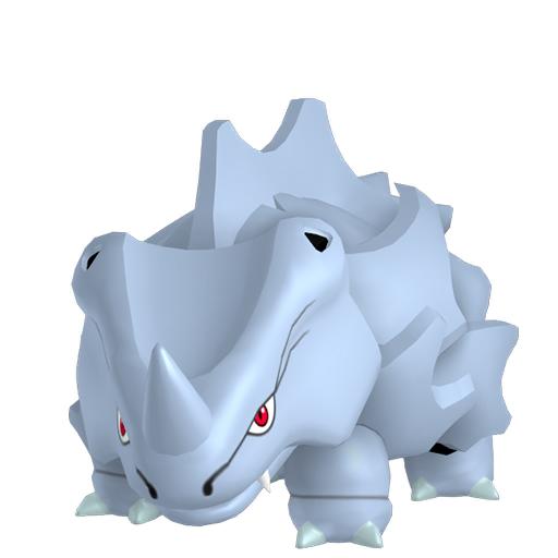 Modèle de Rhinocorne - Pokémon GO