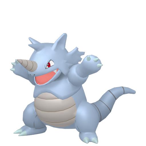 Modèle de Rhinoféros - Pokémon GO