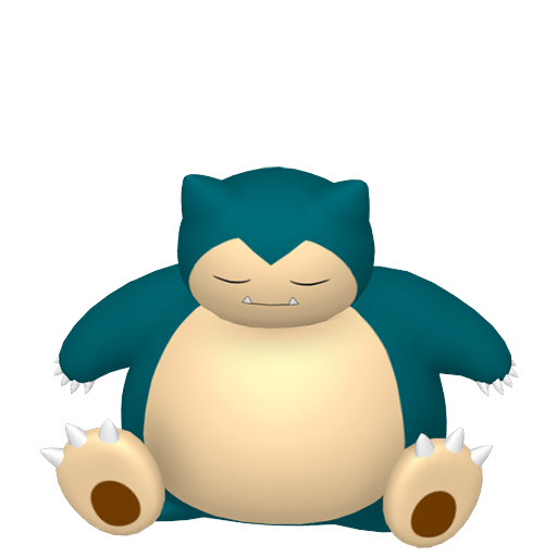 Modèle de Ronflex - Pokémon GO