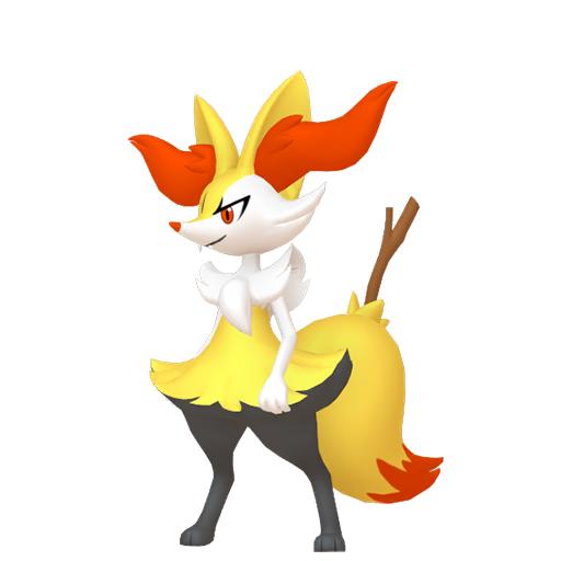 Modèle de Roussil - Pokémon GO