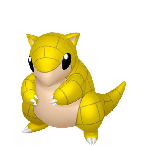 Modèle de Sabelette - Pokémon GO