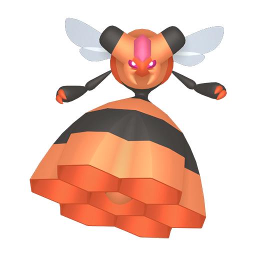 Artwork shiny de Apireine Pokémon Épée et Bouclier