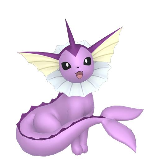 Artwork shiny de Aquali Pokémon Épée et Bouclier