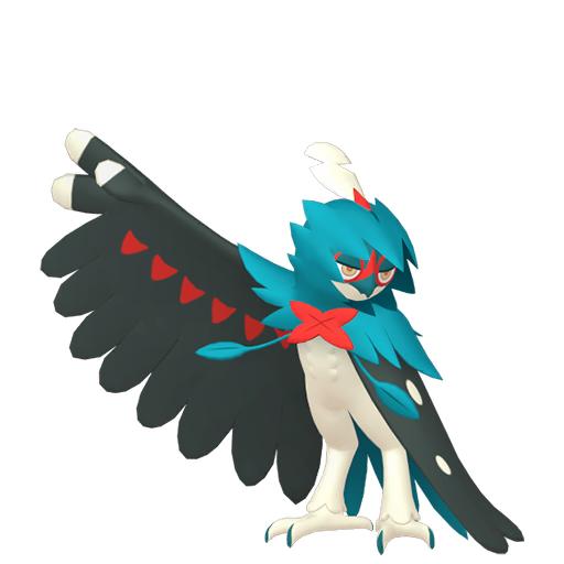 Artwork shiny de Archéduc Pokémon Épée et Bouclier