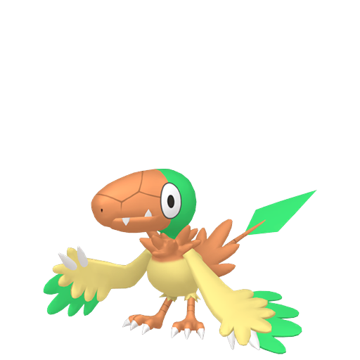 Artwork shiny de Arkéapti Pokémon Épée et Bouclier