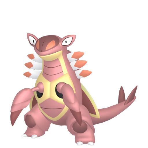 Artwork shiny de Armaldo Pokémon Épée et Bouclier