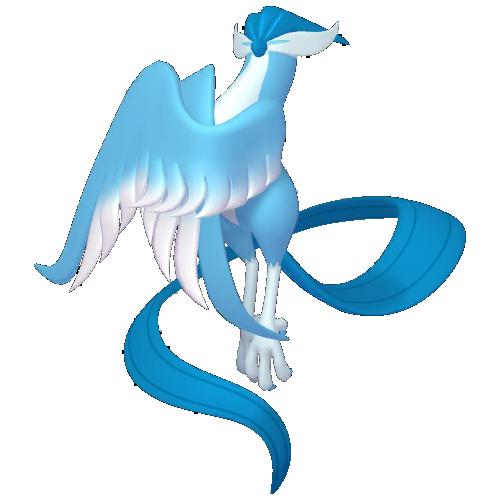 Artwork shiny de Artikodin de Galar Pokémon Épée et Bouclier