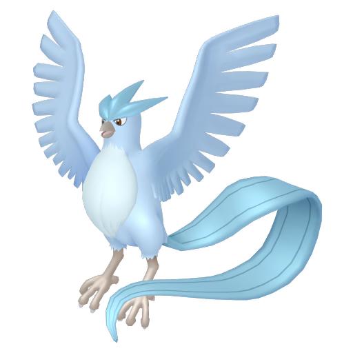 Artwork shiny de Artikodin Pokémon Épée et Bouclier