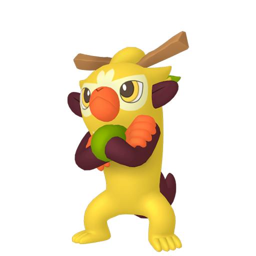 Artwork shiny de Badabouin Pokémon Épée et Bouclier